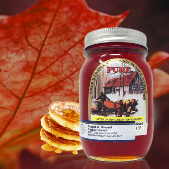 Ontario Pure Maple Syrup