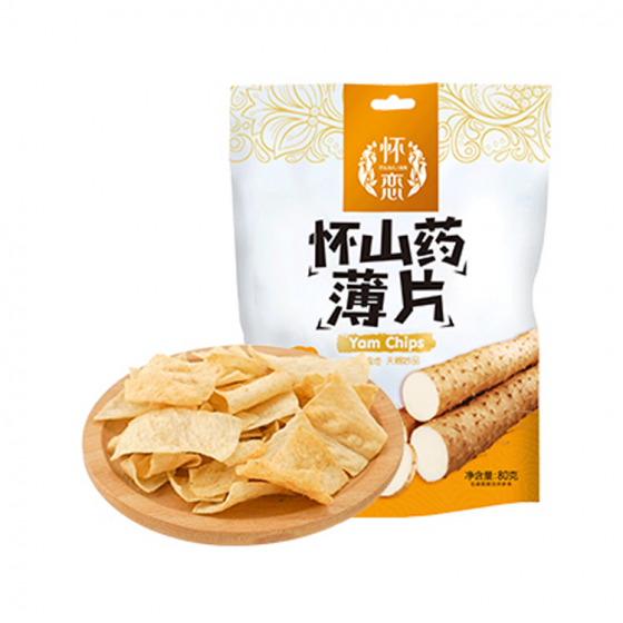 Chinese Yam Chips (BBQ flavor)